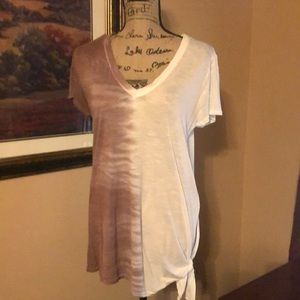 NWOT Gilded Intent top, tie dyed, size M
